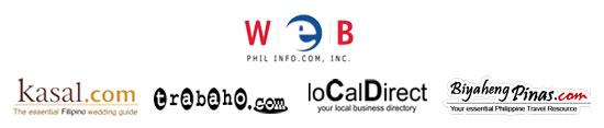 Web Phil Info.com logos